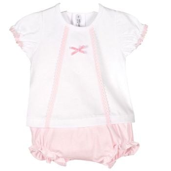Candy Top & Bloomers Set - Pink
