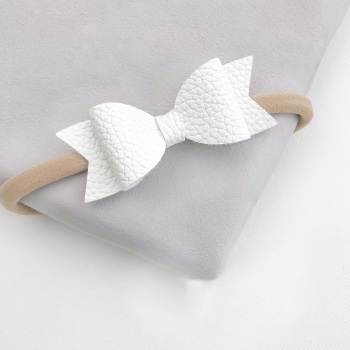 Cotton Tail Bow Headband