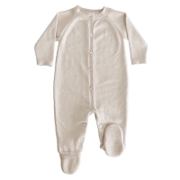 Blair Knitted BabyGrow - Beige
