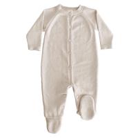 Blair Knitted BabyGrow - Beige