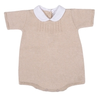 Perry Knitted Romper - SAND