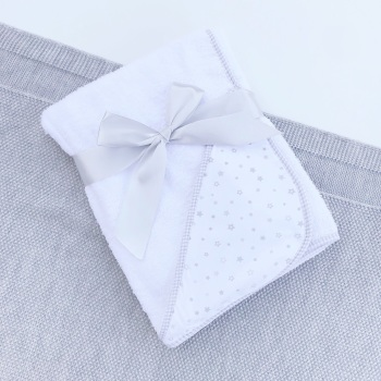 Little Star Soft Hooded Towel