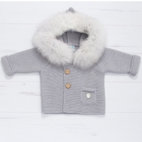 Pangasa Baby Jacket - Grey