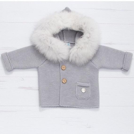 PREORDER - Pangasa Baby Jacket - Grey