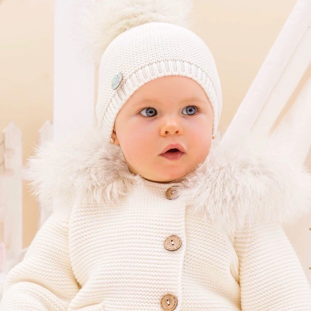 PREORDER - Pangasa Baby Jacket - Ivory