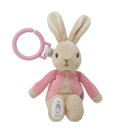 Flopsy Bunny Jiggle Attachable Toy