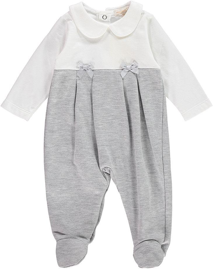 Freya BabyGrow - Grey/White