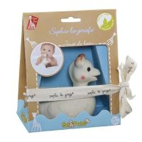 So Pure Sophie la Giraffe Bath Toy