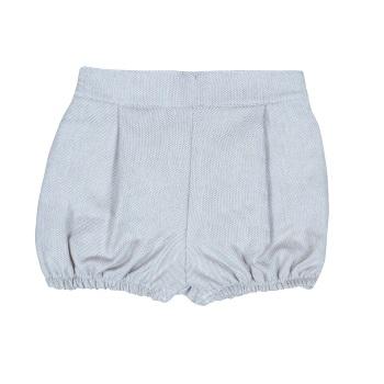 Huxley Tweed Shorts - Navy
