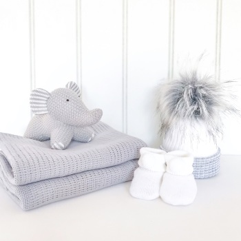 Little Grey Elephant Gift Set