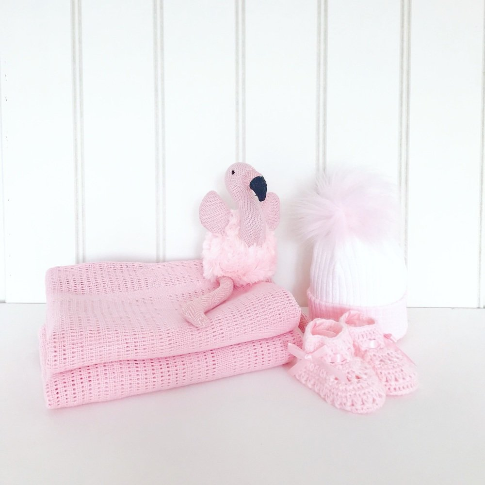 Little Flamingo Gift Set - Pink