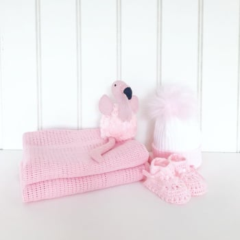 Little Flamingo Gift Set - Pink