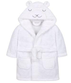 Little Lamb Dressing Gown - White