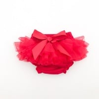 NEW SEASON - Tutu Bloomers With Bow - Red