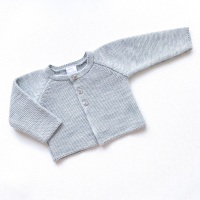 Aspen Knitted Cardigan - Grey