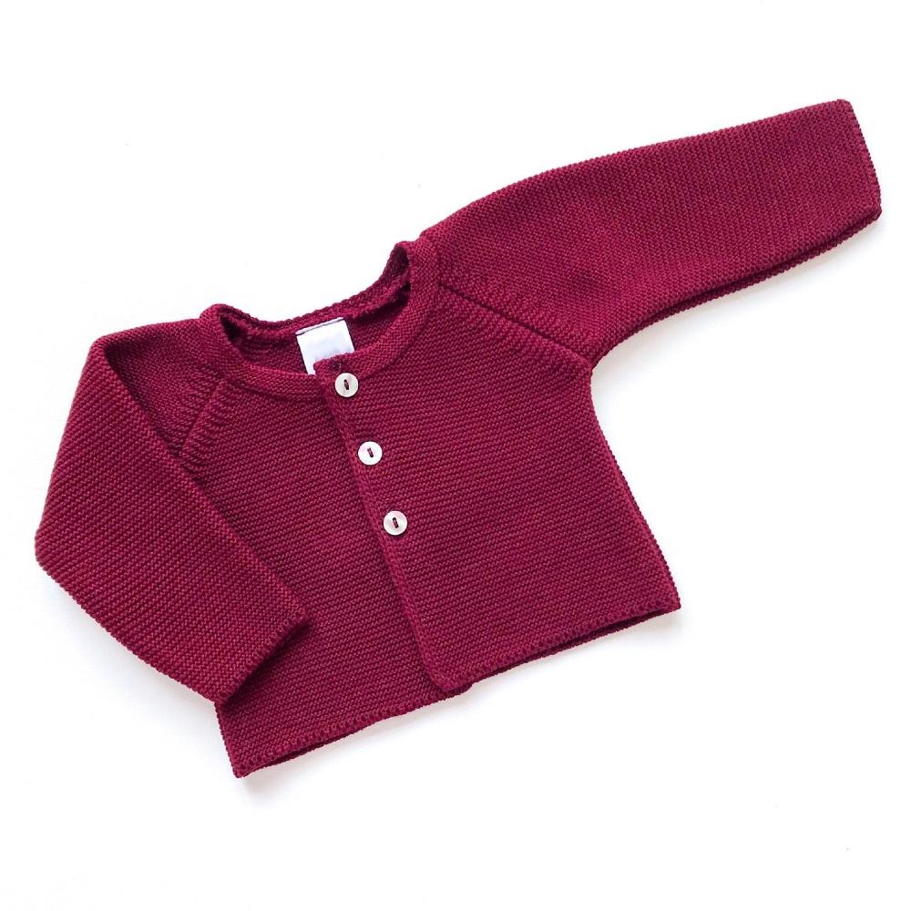 Aspen Knitted Cardigan - Merlot