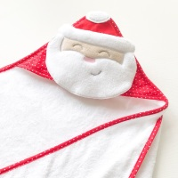 Santa Baby Hooded Towel