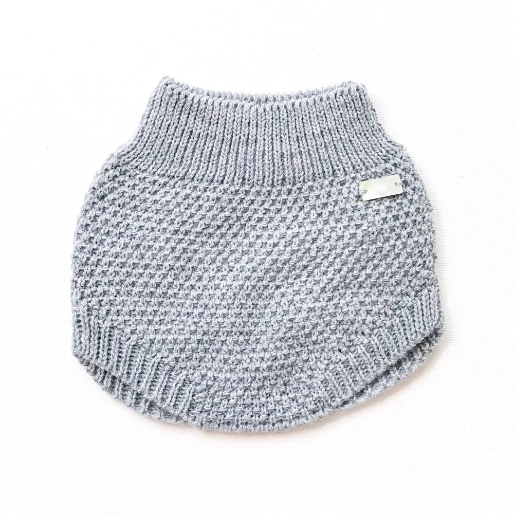 Aston Knitted Pants - Grey