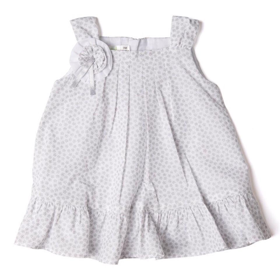 Adeline Rosette Dress