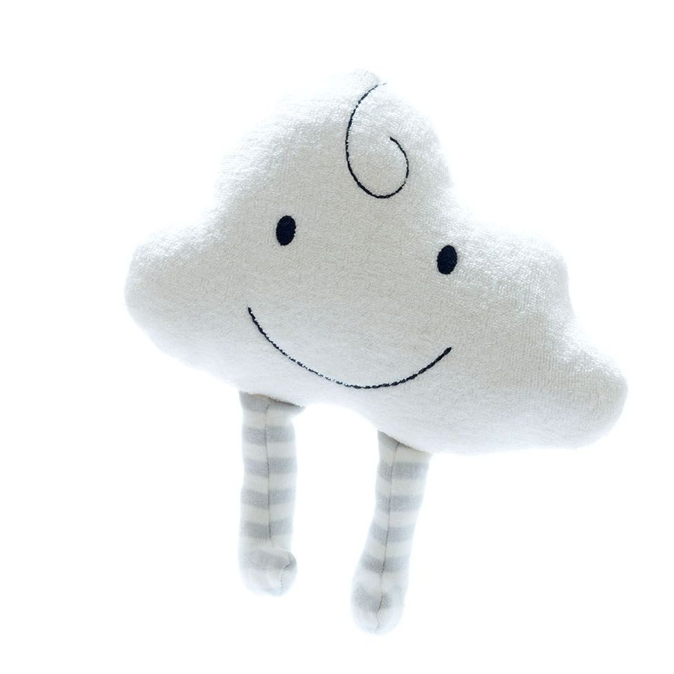 Organic Happy Cloud Soft Toy