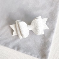 Cottontail Double Bow Hair Clip