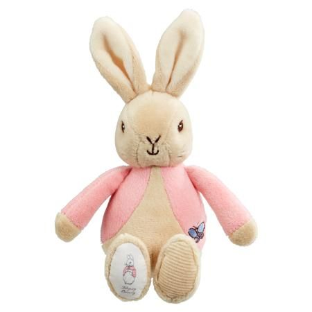 Flopsy Bunny Soft Beanie Rattle