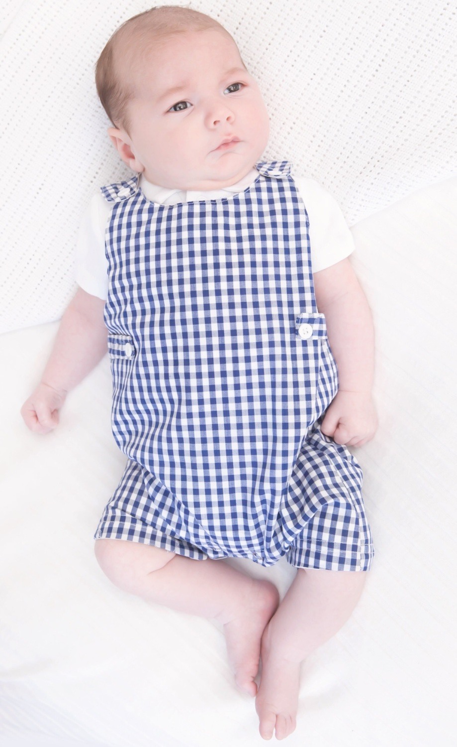 Axel Gingham Romper & Top