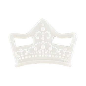 Tiara Silicone Teething Toy – Pearl