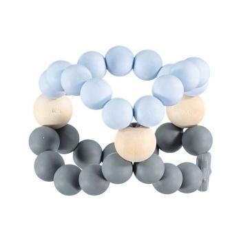 Nibbling Nib Cube – Blue and Grey