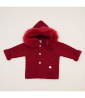 Pangasa Baby Jacket - Garnet