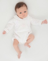 Dr Kid Soft Knit Romper - Ivory