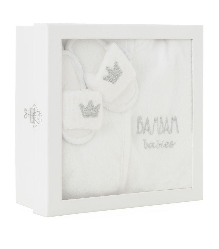 BAM BAM Baby Bathrobe Gift Set