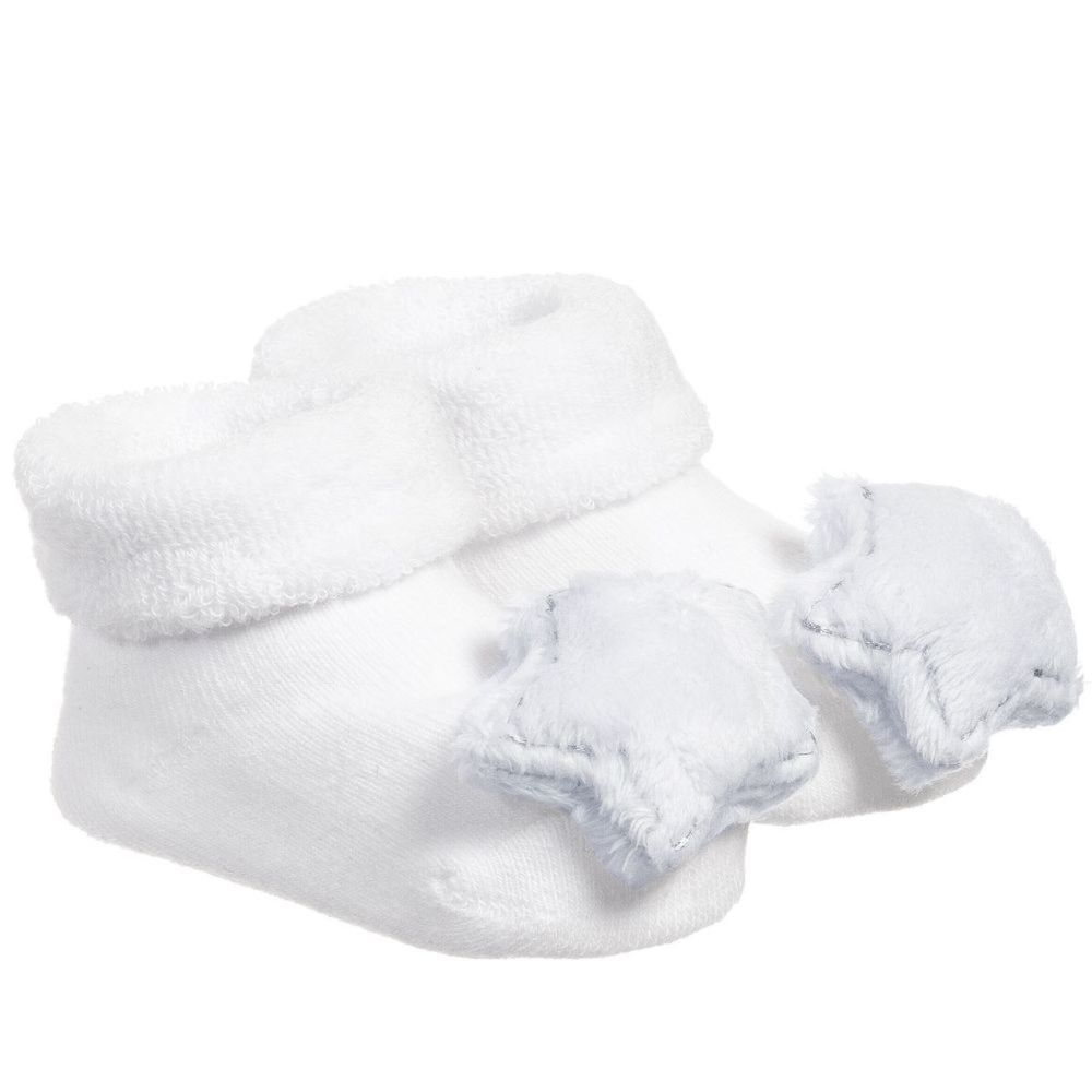 BAM BAM Blue Star Rattle Booties