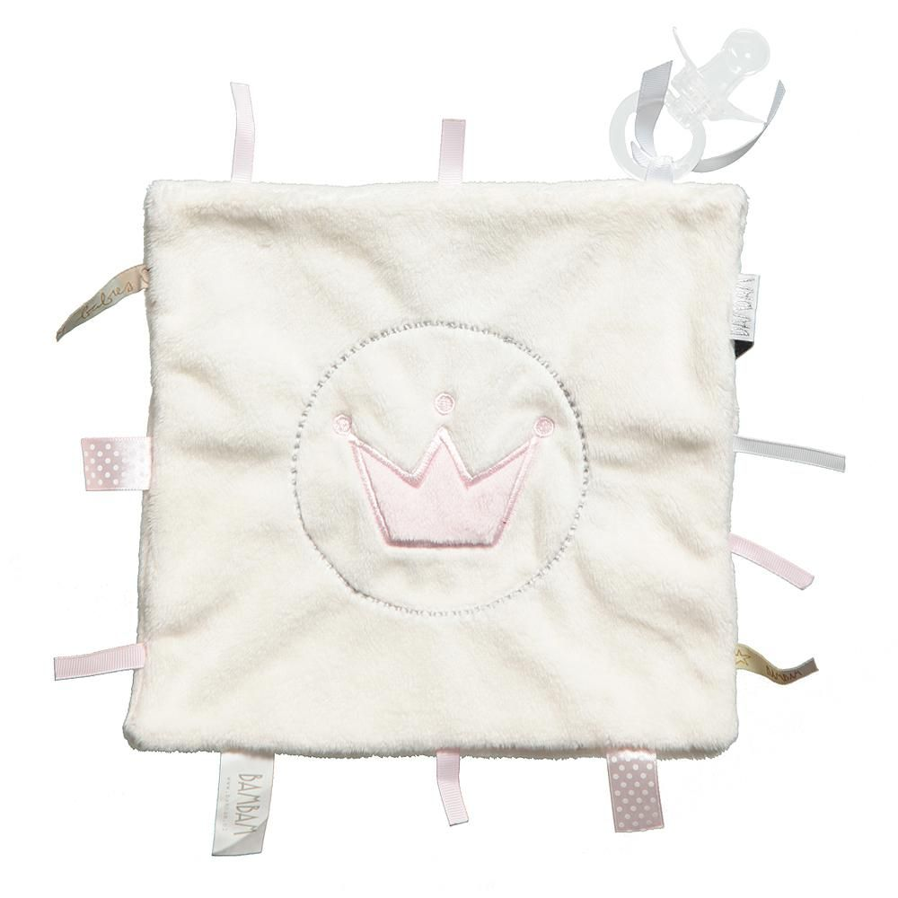 BAM BAM Tuttle & Soother Set - Pink