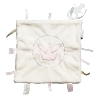 BAM BAM Baby Tuttle & Soother Set - Pink