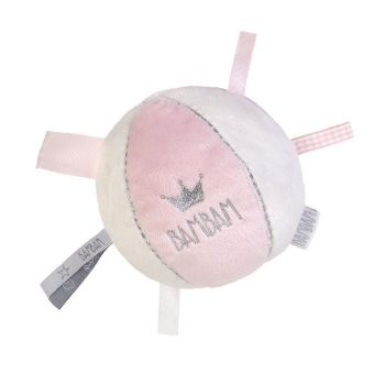 BAM BAM Baby Soft Ball Toy - Pink