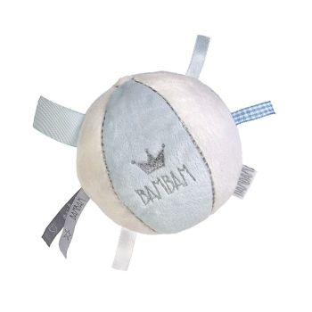 BAM BAM Baby Soft Ball Toy - Blue