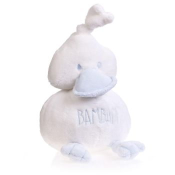 BAM BAM Baby Cuddle Duck Rattle Toy - Blue