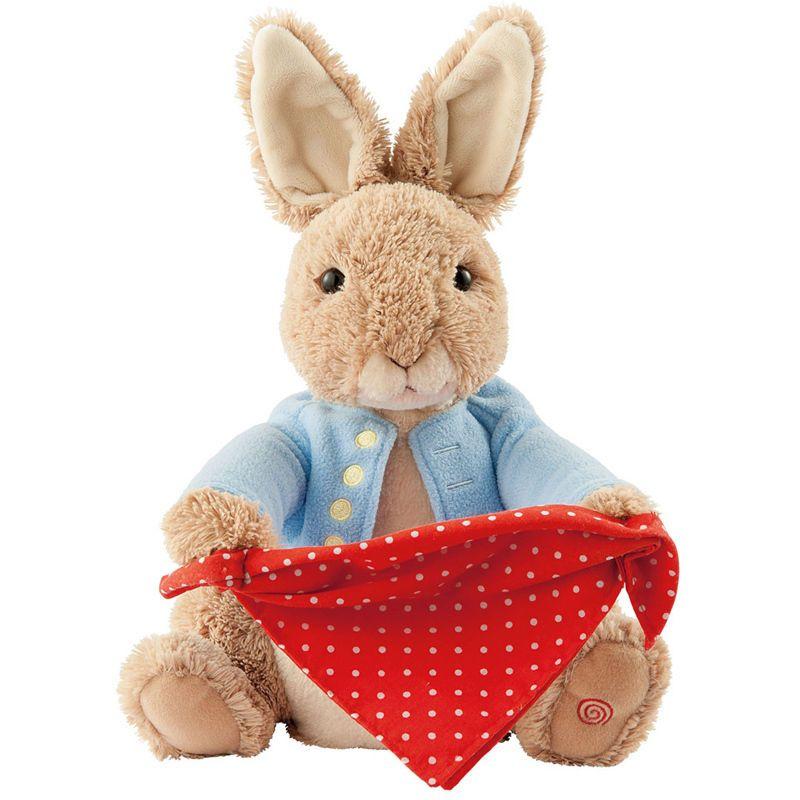 GUND Peter Rabbit Peek-a-Boo Soft Toy
