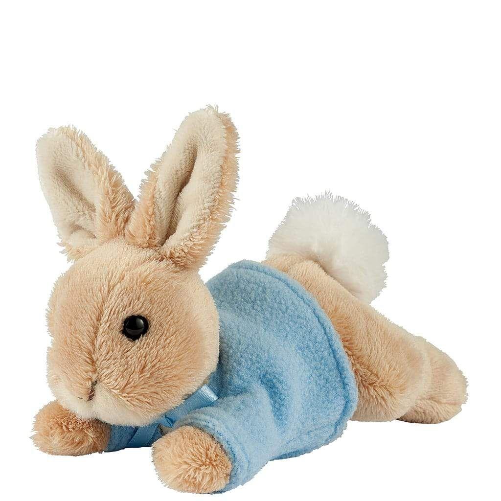 GUND Lying Peter Rabbit Small Soft Toy