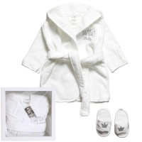 BAM BAM Baby Bathrobe Gift Set