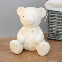 Bambino Resin Money Box - Teddy Bear