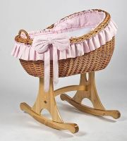 MJ Mark Bianca Uno Natural Crib - Rocker