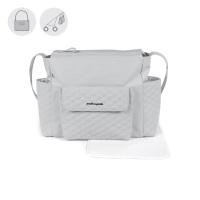 Pasito a Pasito INES Baby Changing Bag - Grey (52cm)