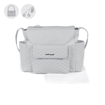 Pasito a Pasito INES Baby Changing Bag - Grey (52cm)
