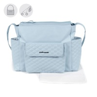 Pasito a Pasito INES Baby Changing Bag - Blue (52cm)
