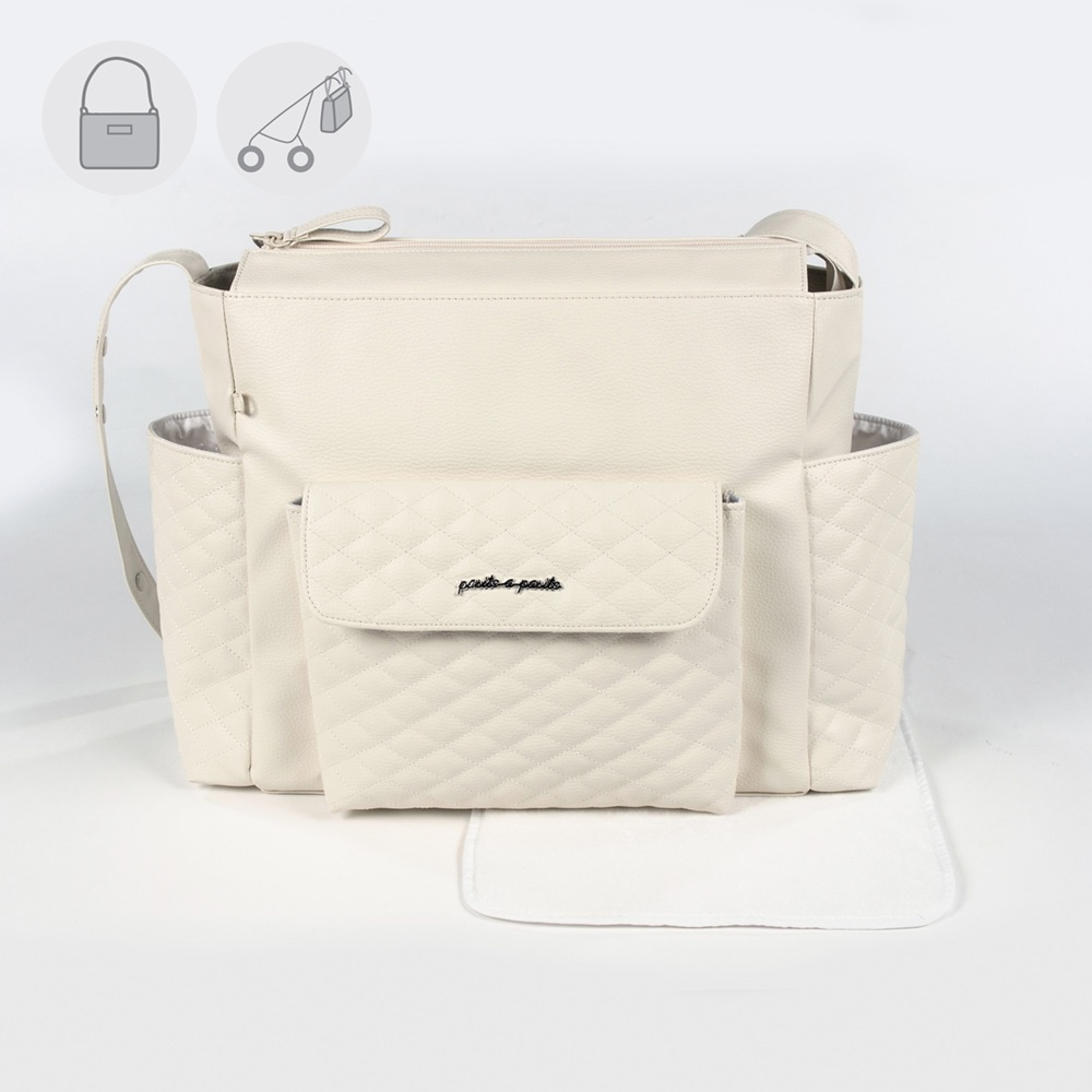 Pasito a Pasito INES Baby Changing Bag - Beige