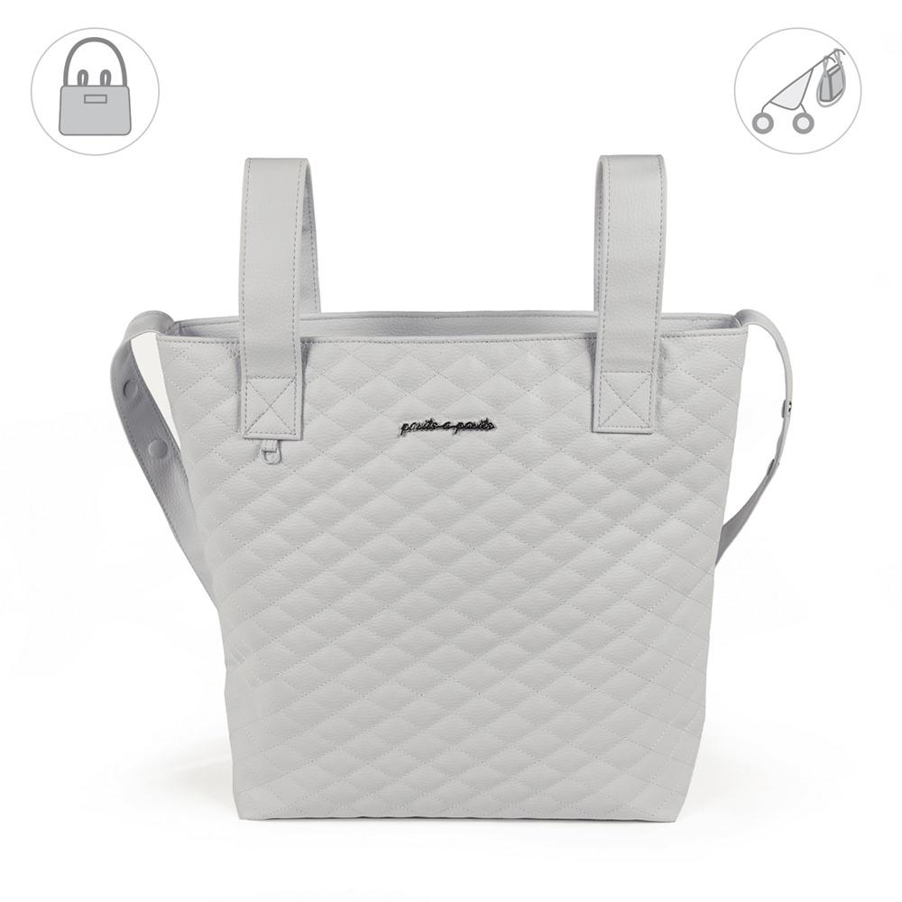 Pasito a Pasito INES Baby Changing Bag - Grey (40cm)