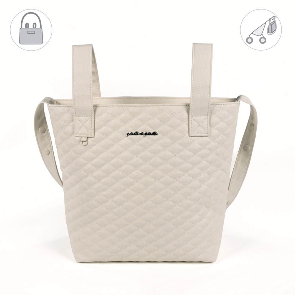 Pasito a Pasito INES Baby Changing Bag - Beige (40cm)