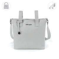 Pasito a Pasito BISCUIT Baby Changing Bag - Grey (35cm)